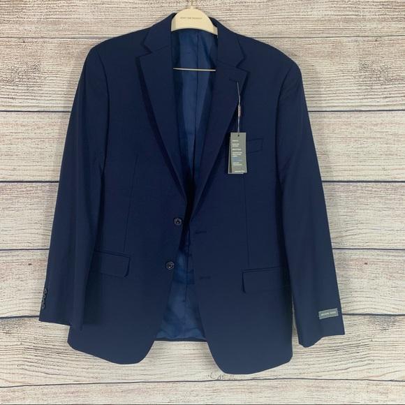 Michael Kors suit jacket navy blue 40L